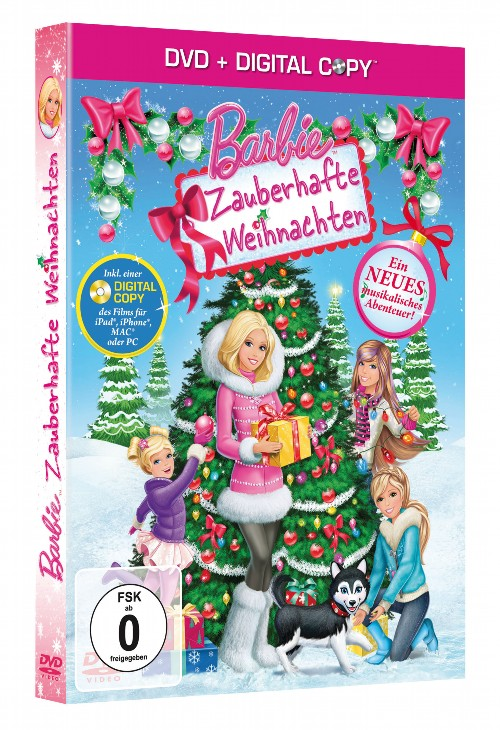 barbie zauberhafte weihnachten ratgeberspiel. Black Bedroom Furniture Sets. Home Design Ideas