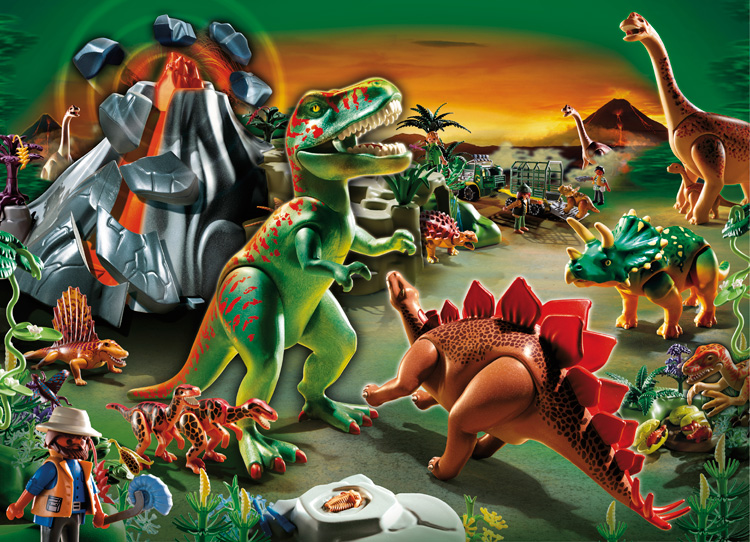 Playmobil dinos set ratgeberspiel - Dinosaur playmobile ...