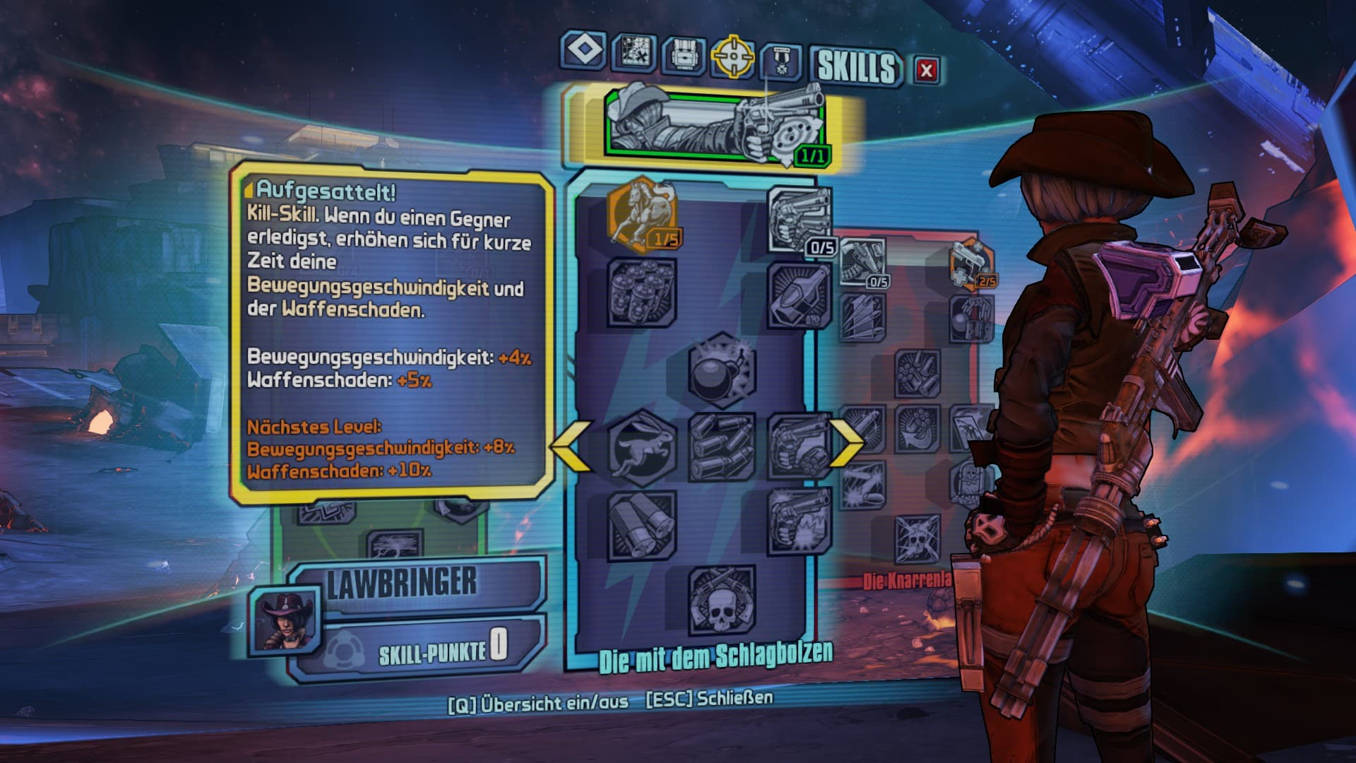 Borderlands Pre-Sequel Char