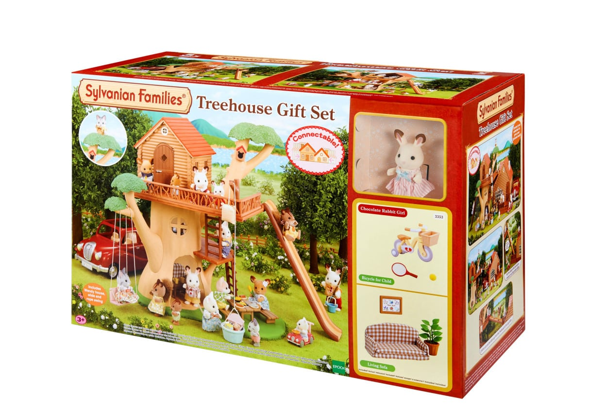 sylvanian families zu weihnachten ratgeberspiel. Black Bedroom Furniture Sets. Home Design Ideas