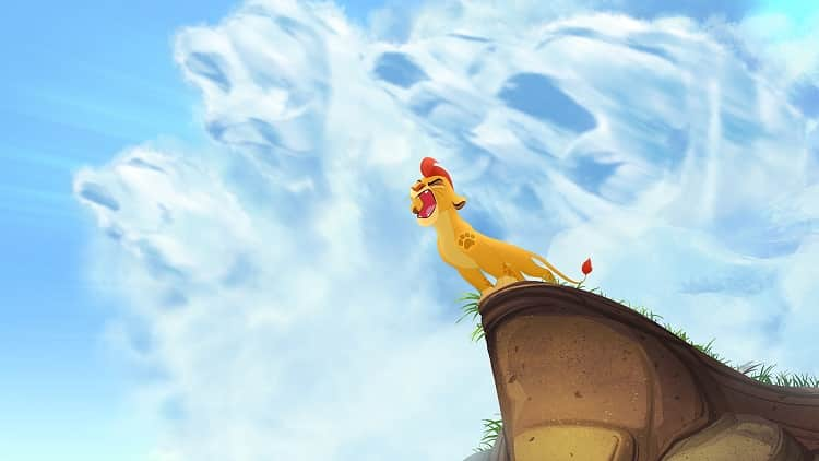 """THE LION GUARD - Disney Television Animation has begun production on """"The Lion Guard,"""" an animated television movie and series that continues the story introduced 20 years ago in the acclaimed Disney animated film """"The Lion King."""" Geared towards kids aged 2-7 and their families, """"The Lion Guard"""" television movie will premiere in fall 2015 and the subsequent series will debut in early 2016 on Disney Junior and Disney Channel. (DISNEY JUNIOR) KION"""