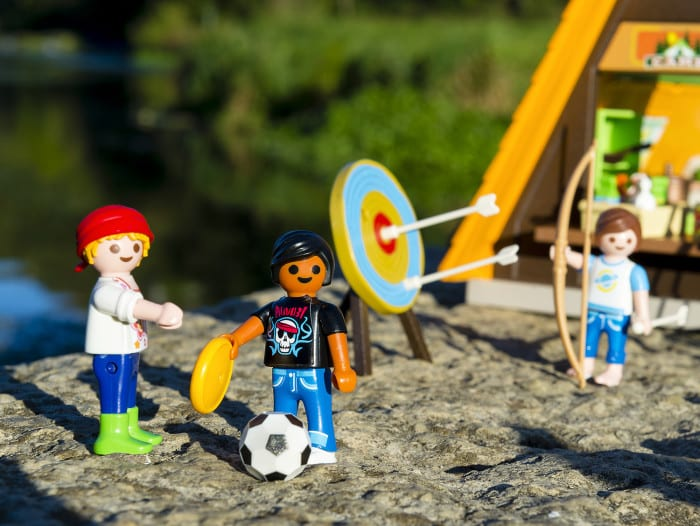 spielspa f r outdoor fans im playmobil feriencamp ratgeberspiel. Black Bedroom Furniture Sets. Home Design Ideas