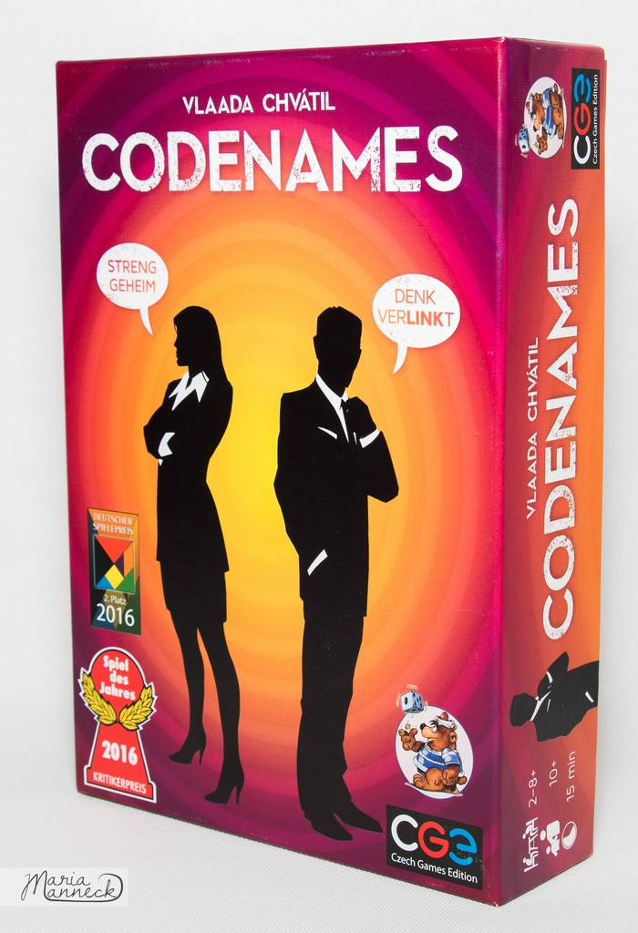 Codesnames   © Maria Manneck