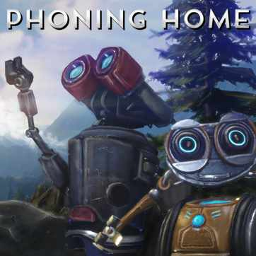 Phoning Home   ION LANDS