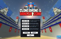 Clone Drone in the Danger Zone | Bildschirmaufnahme der Early Access Version