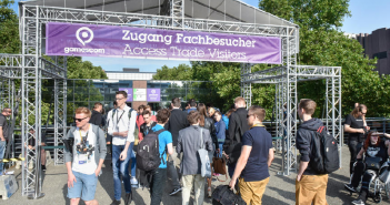 Eingang Business Area, Piazza (Koelnmesse GmbH | © 2017 gamescom)